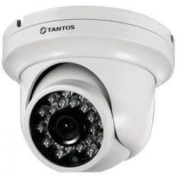 Видеокамера TANTOS TSc-EB720pHDf (3.6) антивандальная купольная универсальная UVC видеокамера 720P «День/Ночь»