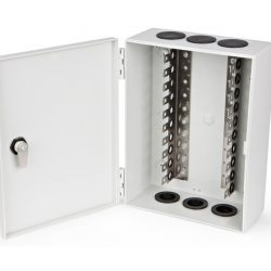 Коробка распределительная Hyperline KR-INBOX-100-NK, на 100 пар, 275x205x105 мм