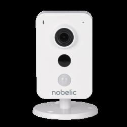 IP-камера Nobelic NBLC-1210F-WMSD 2.8мм Wi-Fi, ИК-подсветка до 10м, поддержка MicroSD до 128Гб, встроенный микрофон и динамик, c поддержкой сервиса IVIDEON