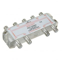Делитель сигнала ТВ+Спутник на 8 подключений под F разъем 5-2500 МГц «СПУТНИК» 05-6205 REXANT