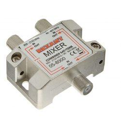 Диплексор (сумматор-делитель) SAT+TV в усиленном корпусе, REXANT 05-8000