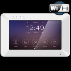 Монитор видеодомофона TANTOS Rocky Wi-Fi с диагональю 7″, встроенный модуль Wi-Fi, с поддержкой просмотра и управления на смартфоне (iOS, Android)