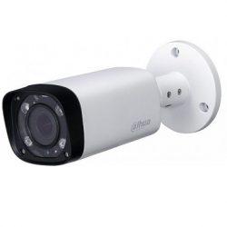 HDCVI Видеокамера цилиндрическая DAHUA DH-HAC-HFW1400RP-VF-IRE6 уличная, 4Мп, 1/3″ 4Mп CMOS; вариофокальный объектив: 2,7-13.5мм; дальность ИК: 60м