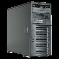 IP-видеосерверы Линия NVR и системы хранения данных Линия SAN