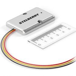 Stelberry M-65 широкополосный MEMS микрофон с отключаемой АРУ и регулировкой усиления в металлическом корпусе с комплектом крепежа с регулировкой чувствительности, отключаемой АРУ и включением низкоомного выхода.
